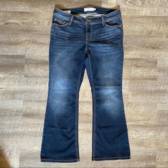 Torrid Luxe Slim Boot Bootcut Jeans 14